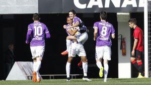 RCD Mallorca - Real Valladolid: puntuaciones del Real Valladolid, jornada 22