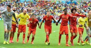 Bélgica - Rusia: puntuaciones de Bélgica, jornada 2, grupo H