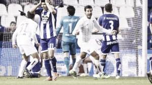 Deportivo - Málaga CF, puntuaciones del Málaga CF jornada 28 Liga BBVA