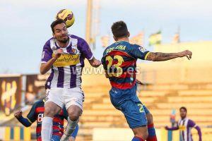 UE Llagostera - Real Valladolid: puntuaciones del Real Valladolid, jornada 21