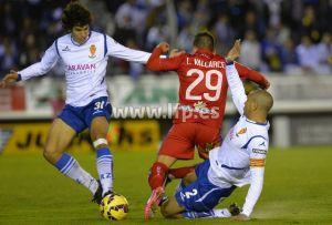 Numancia - Real Zaragoza: puntuaciones del Zaragoza, jornada 14 de la Liga Adelante