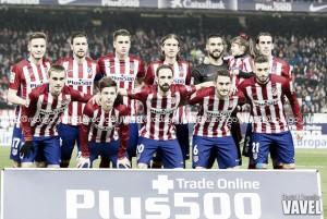 Atlético de Madrid - Celta: puntuaciones del Atlético, cuartos de final de Copa del Rey