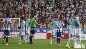 Atlético de Madrid - Celta: puntuaciones del Celta, jornada 4