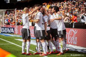 Valencia - Real Sociedad: puntuaciones del Valencia, jornada 25 de Liga BBVA
