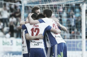SD Ponferradina - Real Zaragoza, puntuaciones Ponferradina, jornada 36 liga Adelante