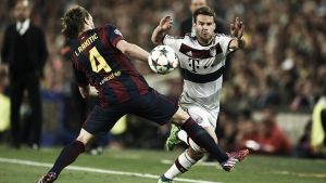 Barcelona - Bayern de Múnich: puntuaciones del Bayern de Múnich, ida de las semifinales de Champions League 2015