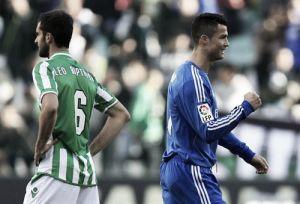 Real Betis - Real Madrid, puntuaciones del Betis, jornada 20