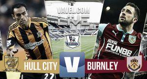 Resultado Hull City vs Burnley en la Premier League 2015 (0-1)