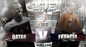 Resultado Qatar vs Francia en el Mundial 2015 (19-22)