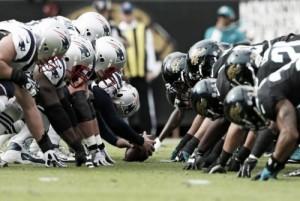 Jogo New England Patriots x Jacksonville Jaguars pela final da AFC nos playoffs da NFL