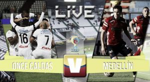 Once Caldas vs Medellín, Liga Águila en vivo y en directo online 2015 (0-0)