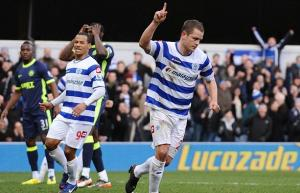 First Premiership Victory for coach Mark Hughes as QPR boss