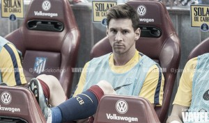 """Messi: """"Sólo intento pensar en mí y en mis compañeros"""""""