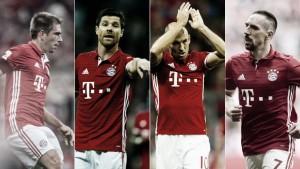 Quarteto experiente do Bayern se destaca no inédito pentacampeonato