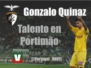 """Gonçalo Quinaz: """"Mi objetivo es la primera división"""""""