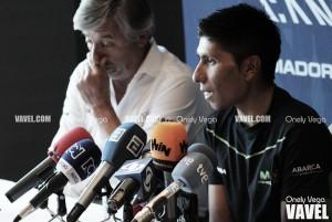 """Nairo Quintana: """"La tranquilidad me la da el equipo, hay que estar atentos"""""""