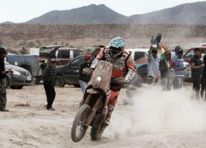 Temporal dakariano en Bolivia