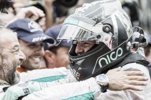 Nico Rosberg acaba en Mónaco con el dominio de Lewis Hamilton