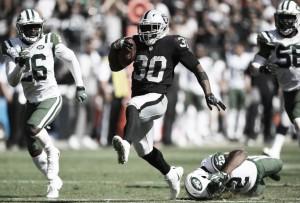 Com show do recebedor Michael Crabtree, Raiders amassa Jets e segue invicto na NFL