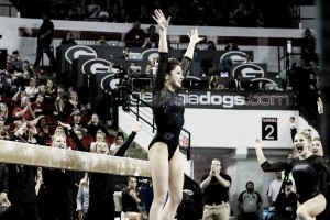 NCAA Gymnastics: Georgia soars to consistent victory over Arkansas