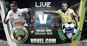 Racing de Santander - Alcorcón en directo online