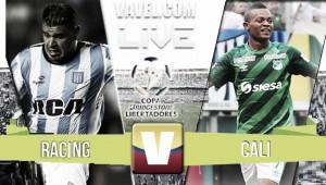 Resultado Racing - Deportivo Cali en vivo online por Copa Libertadores (4-2)