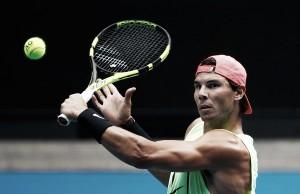 """Rafael Nadal: """"Pese a no haber jugado todavía un partido oficial, me siento bien"""""""