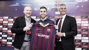 """Rafa Usín: """"Es un privilegio ser jugador del Barcelona"""""""