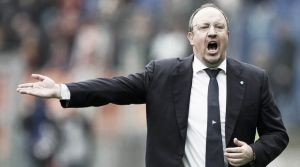 Rafael Benitez is calm over Napoli future despite reports suggesting he's headed for an exit