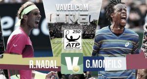 Live Nadal - Monfils, in diretta semifinali torneo Atp Stoccarda (2-0: 6-3; 6-4)