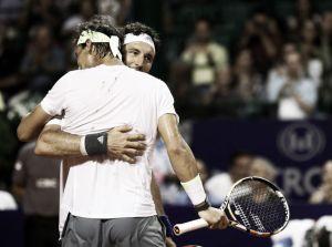 Rafa Nadal y Juan Mónaco sufren para avanzar de ronda