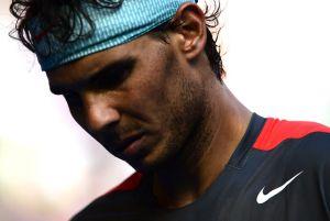 """Rafa Nadal: """"Si sigo así me voy a destrozar la mano"""""""