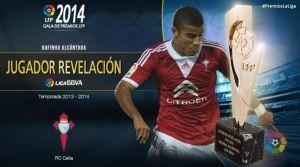 """Rafinha, elegido """"jugador revelación"""" de la temporada 2013/2014"""