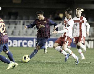 El Huesca, rival del Barcelona en Copa