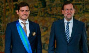 Iker Casillas recibió la Gran Cruz del Mérito Deportivo
