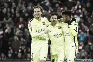 El Barça más vertical suma tres en Granada