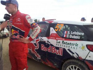 Completo programa para el protegido del Loeb en 2015