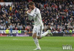 """Ramos: """"Esto es el Madrid, el que no esté preparado que no salte al campo con este escudo"""""""