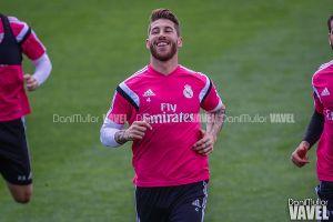 Sergio Ramos acude a Valdebebas para tratar su futuro