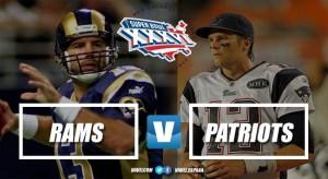 Super Bowl XXXVI: El nacimiento de una dinastía