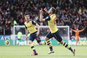 Burnley 0-1 Arsenal: Gunners take three vital points in hard-earned win
