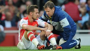 Ramsey admits he is not yet 100% fit, amid claims he has dipped in form