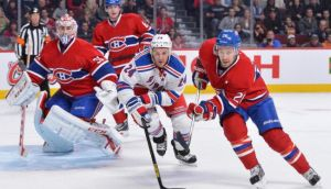 New York Rangers - Montreal Canadiens Live Scores of NHL Game 5