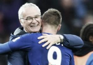 """Ranieri: """"Es difícil crecer tan rápidamente como lo ha hecho Vardy, es un jugador fantástico"""""""