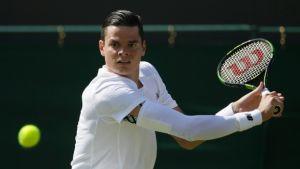 Wimbledon 2015: Raonic spazza via Haas