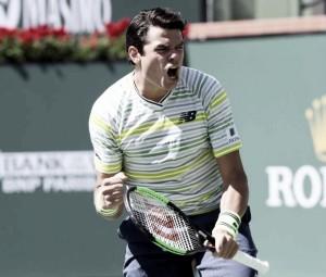Raonic supera Querrey e é semifinalista do Masters 1000 de Indian Wells