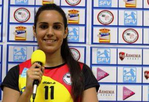 """Raquel Egea: """"Mi meta es ser una gran receptora"""""""