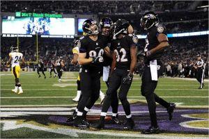Los Ravens derrotan a los Steelers en un cierre dramático del Thanksgiving
