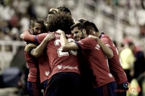 Osasuna consigue la primera victoria en liga