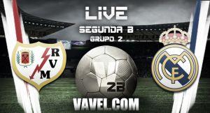Rayo Vallecano B - Real Madrid Castilla en vivo y en directo online (2-1)